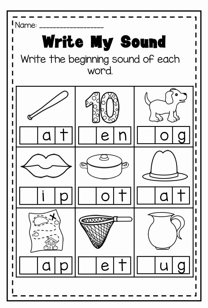 Phonics Worksheets for Preschoolers Inspirational Mega Phonics Worksheet Bundle Pre K Kindergarten Distance