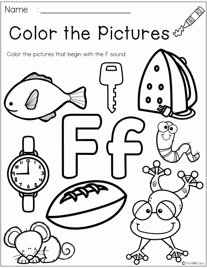 Phonics Worksheets for Preschoolers Lovely Letter the Week Lettering Phonics Activities Alphabet