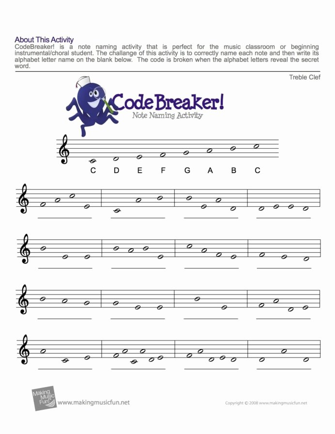 Piano Worksheets for Preschoolers Fresh Treble Clef Fun Note Reading with Music theory Piano