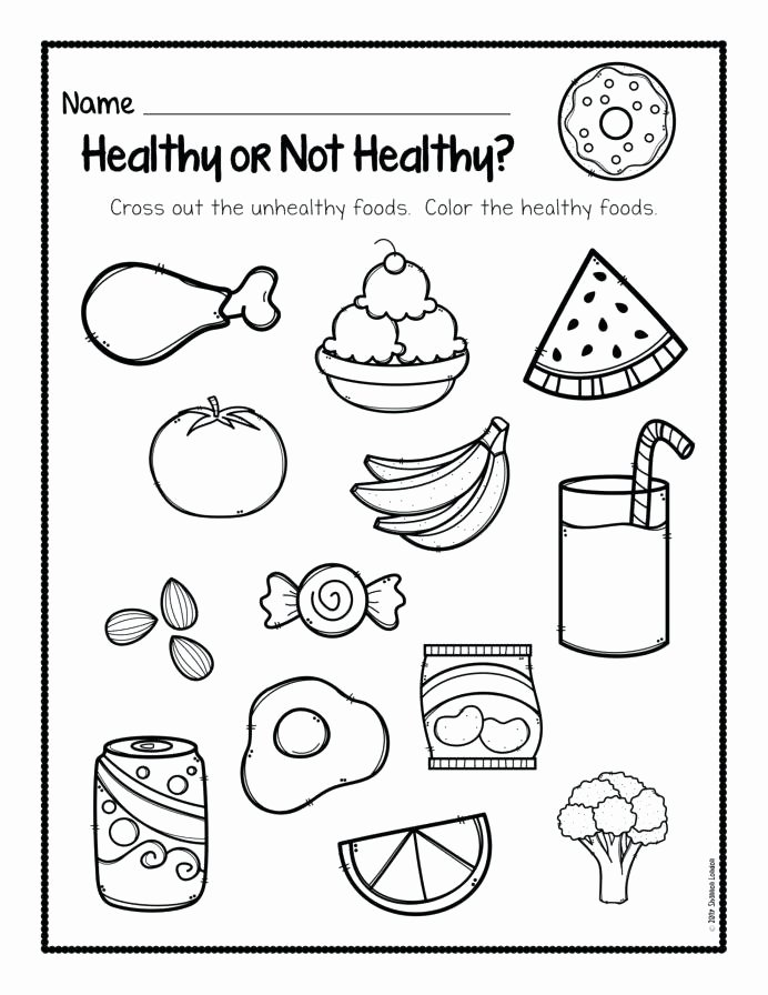 Pizza Worksheets for Preschoolers New Food Worksheets for Kindergarten Dailycrazynews Picnic