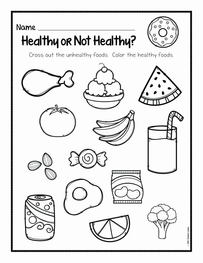 Pizza Worksheets for Preschoolers New Food Worksheets for Kindergarten Dailycrazynews Picnic