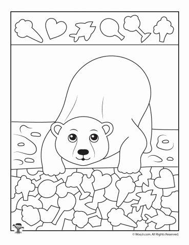 Polar Animal Worksheets for Preschoolers New Polar Bear I Spy Printable Worksheet