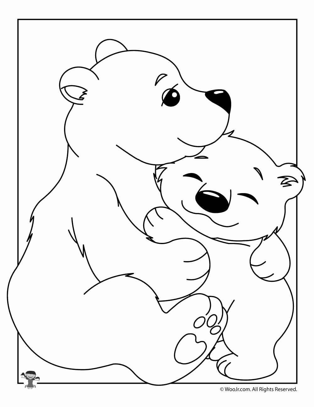 Polar Bear Worksheets for Preschoolers New Baby Polar Bear Coloring Sheet Woo Jr Kids Activities Mom