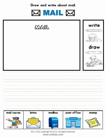 Post Office Worksheets for Preschoolers Beautiful Mail Carrier Activities Games and Worksheets for Kids