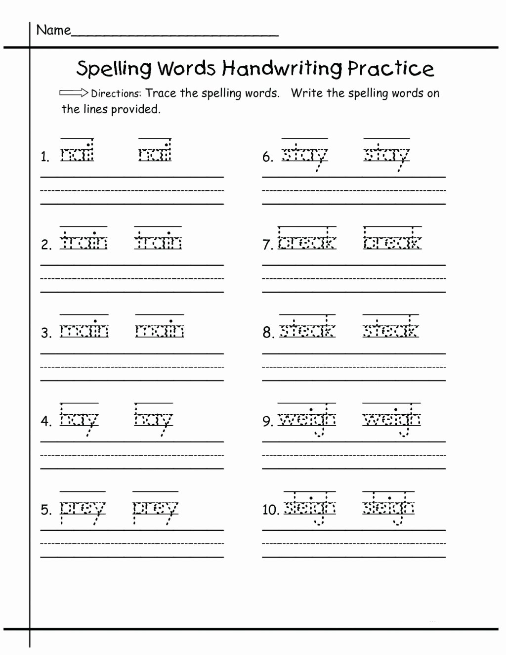 Practice Handwriting Worksheets for Preschoolers Fresh Worksheet Freele Handwriting Worksheets for Preschool