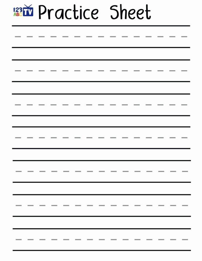 Practice Handwriting Worksheets for Preschoolers Inspirational Worksheet Handwriting Sheets for Kindergarten Free