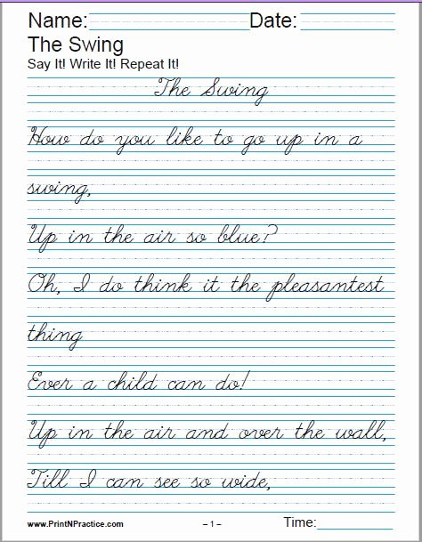 Practice Handwriting Worksheets for Preschoolers New Worksheets Printable Handwriting Worksheets Manuscript and