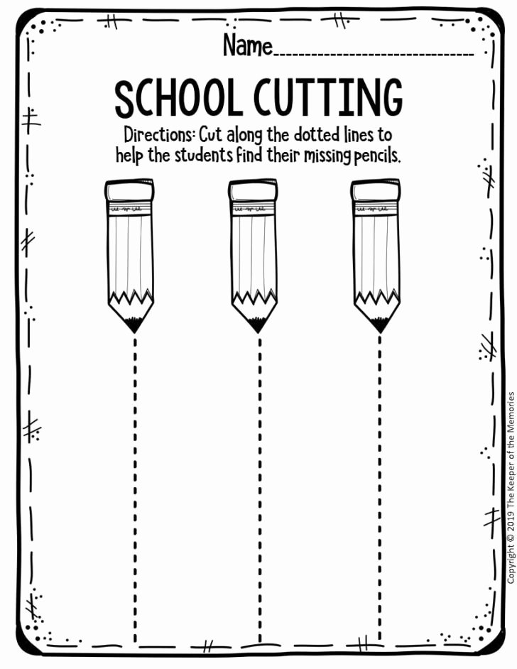Pre K Printable Cutting Worksheets for Preschoolers Lovely Worksheet Free Printable Sequence events Cut Pastes