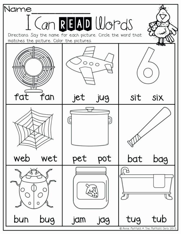 Pre Reading Worksheets for Preschoolers Inspirational Worksheet Educationalrksheets for Kindergartenrksheet
