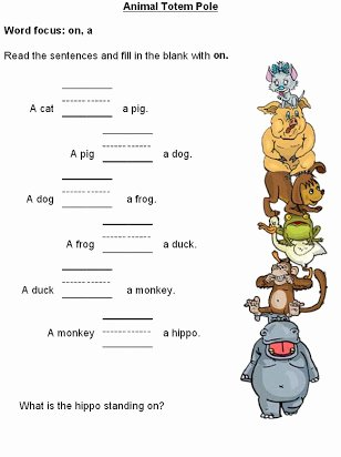 Preposition Worksheets for Preschoolers Beautiful Free Printable Preposition Worksheets for Preschoolers