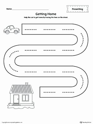 Prewriting Worksheets for Preschoolers Lovely Worksheet Writing Pages for Preschoolers Marvelous Picture