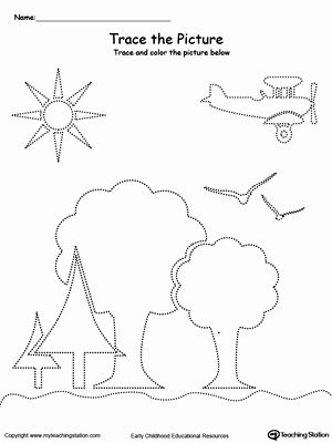 Prewriting Worksheets for Preschoolers top Kindergarten Pre Writing Printable Worksheets