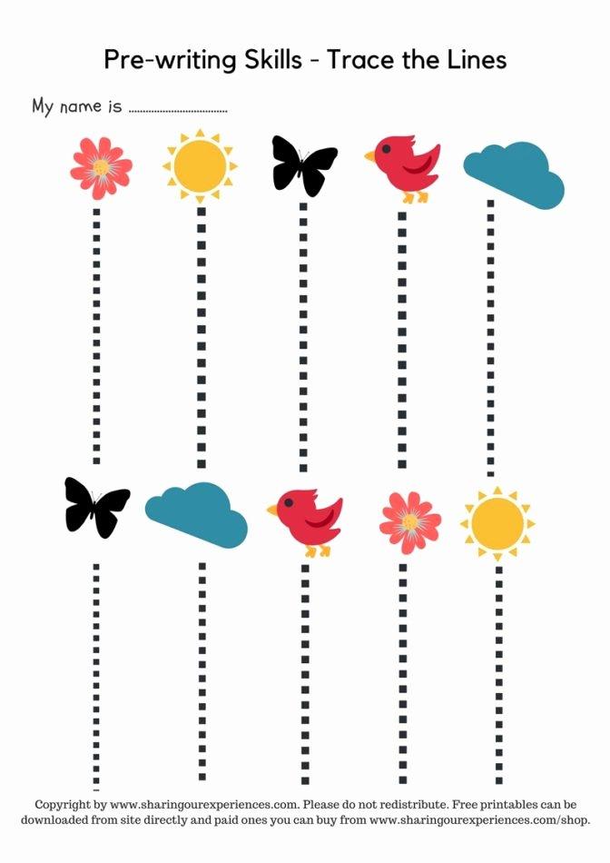 Prewriting Worksheets for Preschoolers top Math Worksheet 52 Staggering Fun Worksheets for