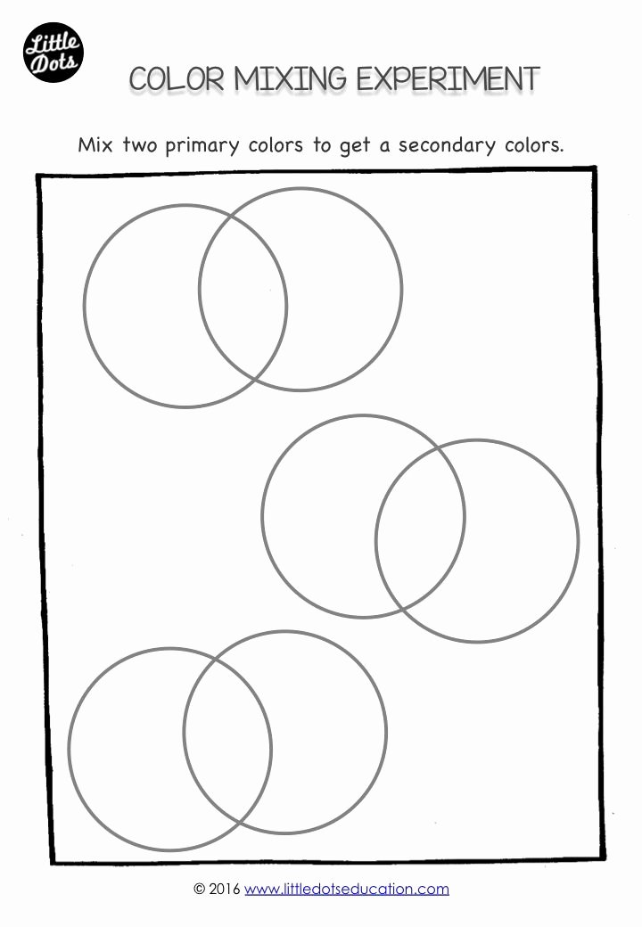 Primary Colors Worksheets for Preschoolers Best Of Free Shapes Matching Worksheet for Preschool Pre K or