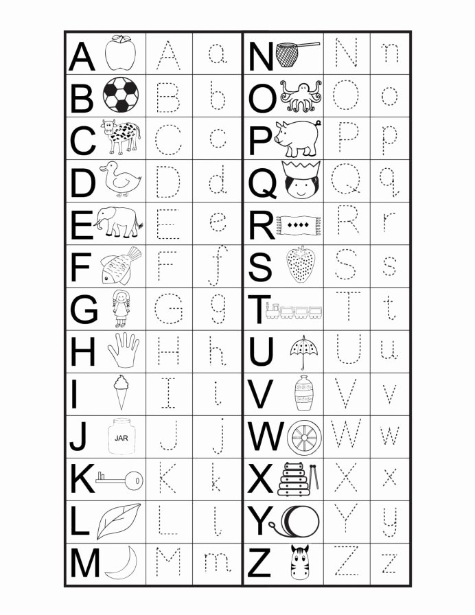 Printable Abc Worksheets for Preschoolers Fresh Worksheet Printable Alphabet Letters Coloring Pages