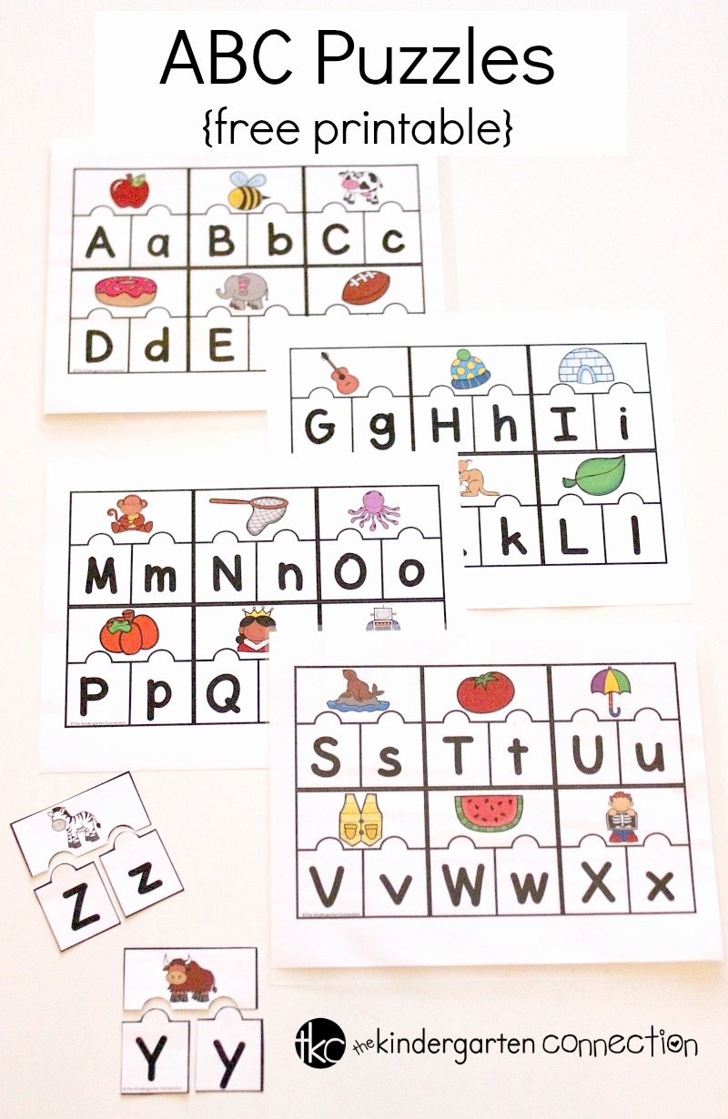 Printable Abc Worksheets for Preschoolers Fresh Worksheet Puzzles Free Printables Worksheet Printable for