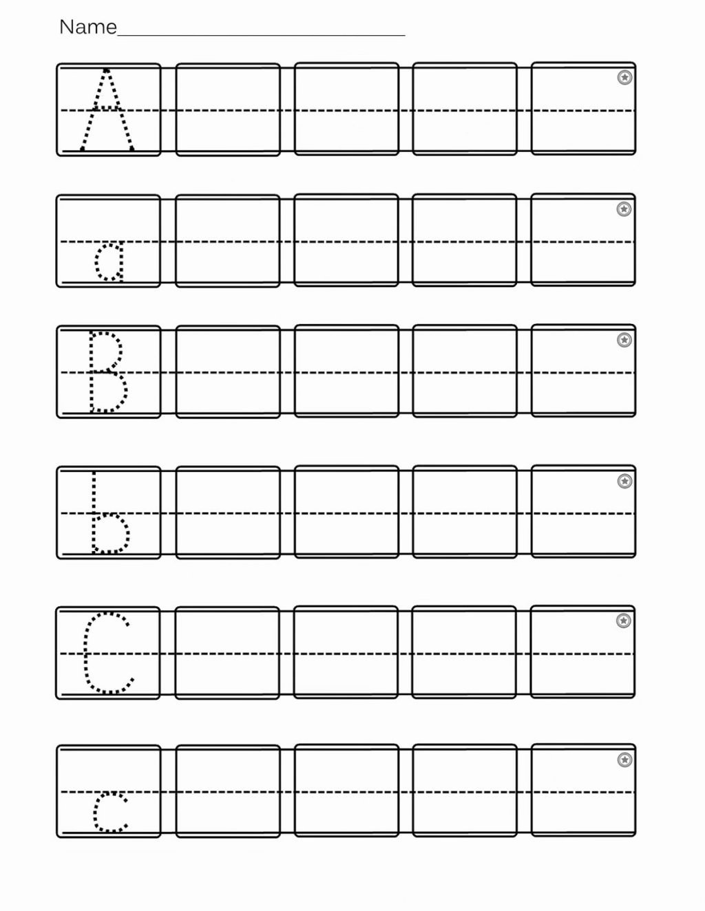 Printable Abc Worksheets for Preschoolers New Worksheet Worksheets for Pre K Kindergarten Best Ideas