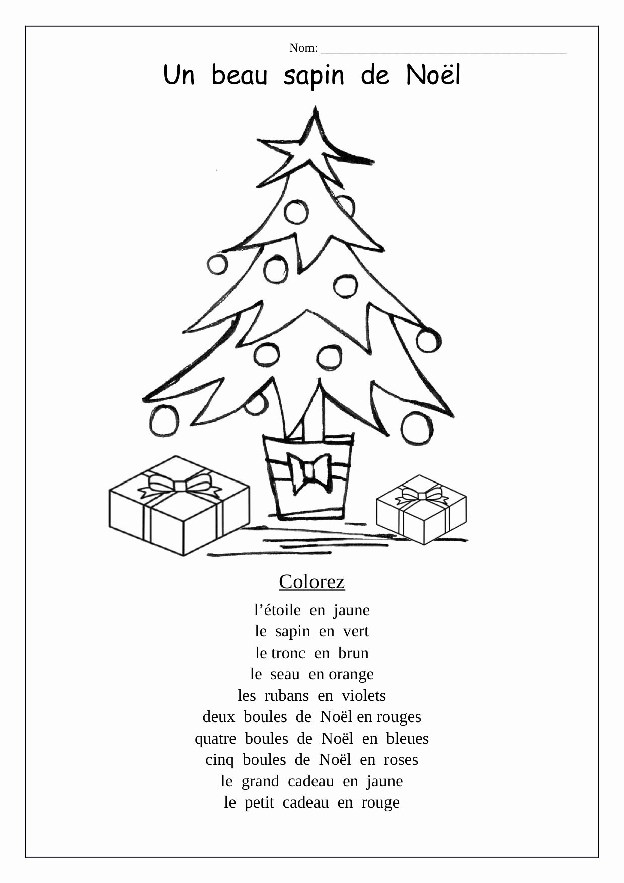 Printable Christmas Worksheets for Preschoolers Best Of Worksheets Christmas Tree Preschool Worksheets Printable