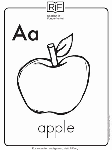 Printable Coloring Worksheets for Preschoolers Lovely Coloring Books Alphabet Coloring Pages for toddlers