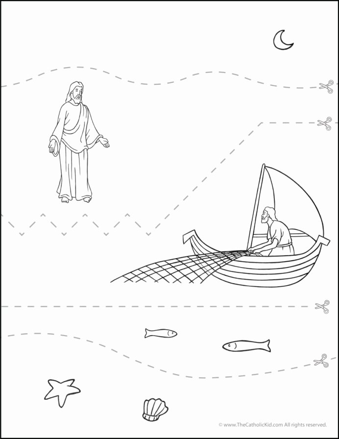 Printable Cutting Worksheets for Preschoolers Beautiful Worksheet Catholic Practice Cutting Worksheet Sea