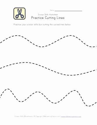 Printable Cutting Worksheets for Preschoolers top Pin On Cutting Practice