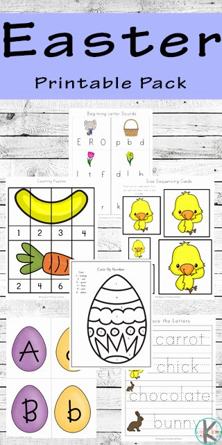 Printable Easter Worksheets for Preschoolers Lovely Free Easter Printable Pack