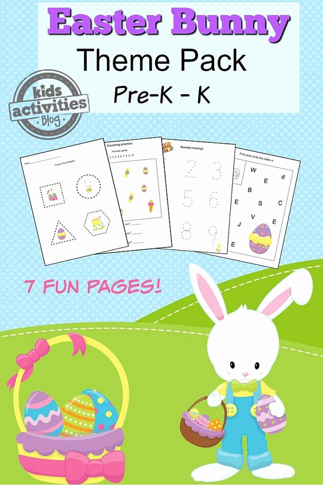 Printable Easter Worksheets for Preschoolers New Super Cute Easter Activity Worksheets Perfect for