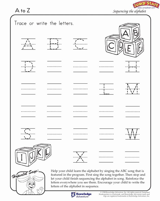 Printable English Worksheets for Preschoolers Fresh to English Worksheets for Kindergarten Jumpstart Free