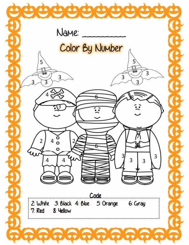 Printable Halloween Worksheets for Preschoolers Best Of Printable Halloween Worksheet