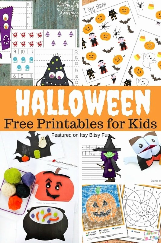 Printable Halloween Worksheets for Preschoolers New Free Printable Halloween Worksheets and More Itsybitsyfun