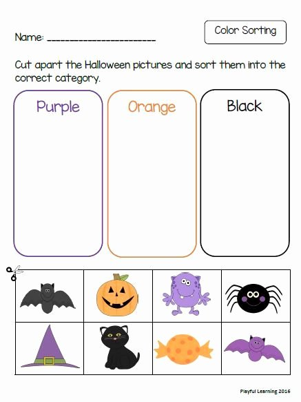 Printable Halloween Worksheets for Preschoolers Unique Halloween Preschool Pack