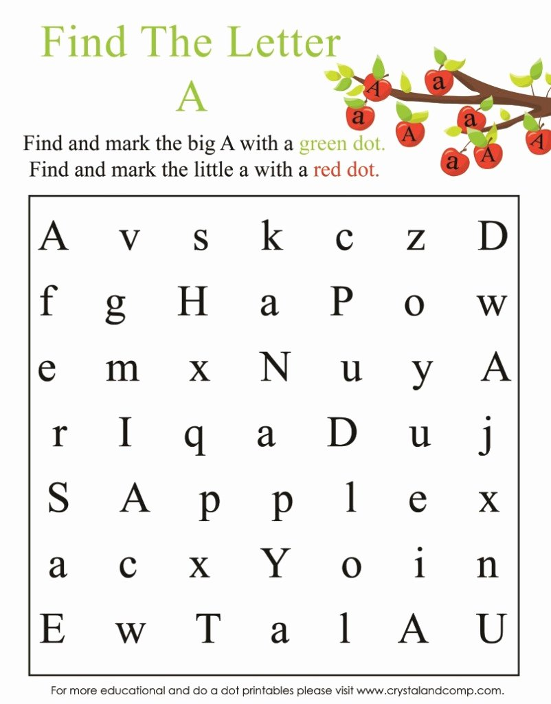 Printable Letter A Worksheets for Preschoolers Best Of Math Worksheet Math Worksheet Fun Worksheets forhoolers