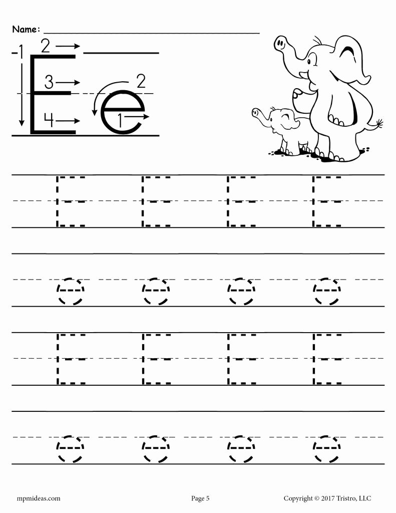 Printable Letter Tracing Worksheets for Preschoolers Fresh Math Worksheet Marvelous Letter Tracing Worksheets Free