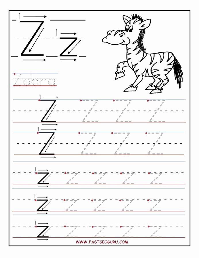 Printable Letter Tracing Worksheets for Preschoolers Inspirational Printable Letter Tracing Worksheets for Preschool to