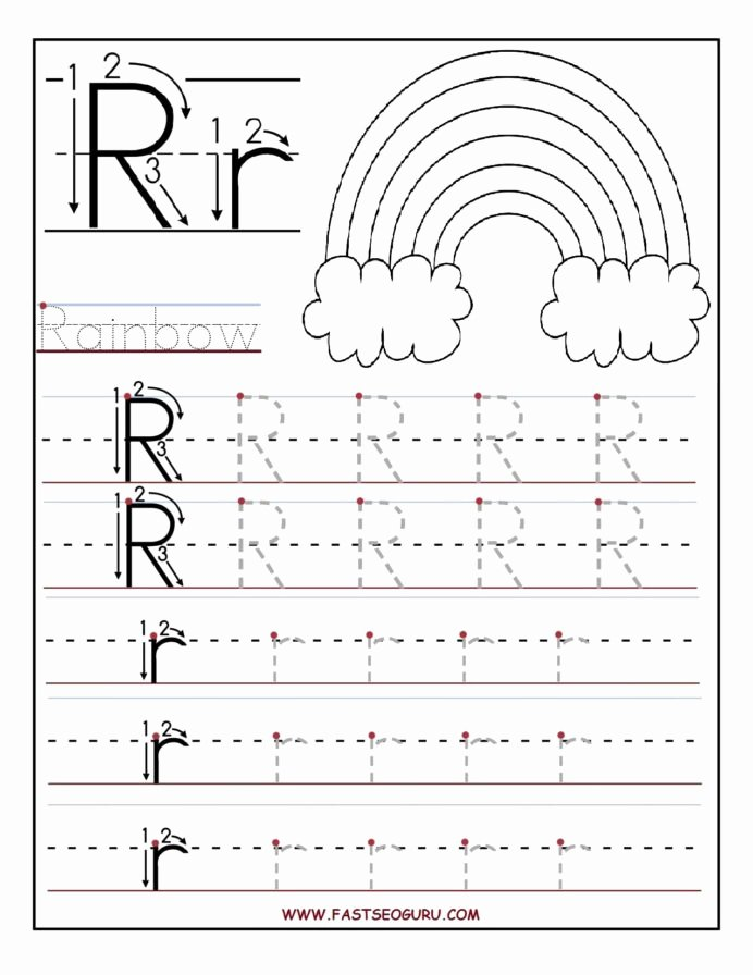 Printable Letter Tracing Worksheets for Preschoolers top Printable Letter Tracing Worksheets for Preschool 3rd Grade