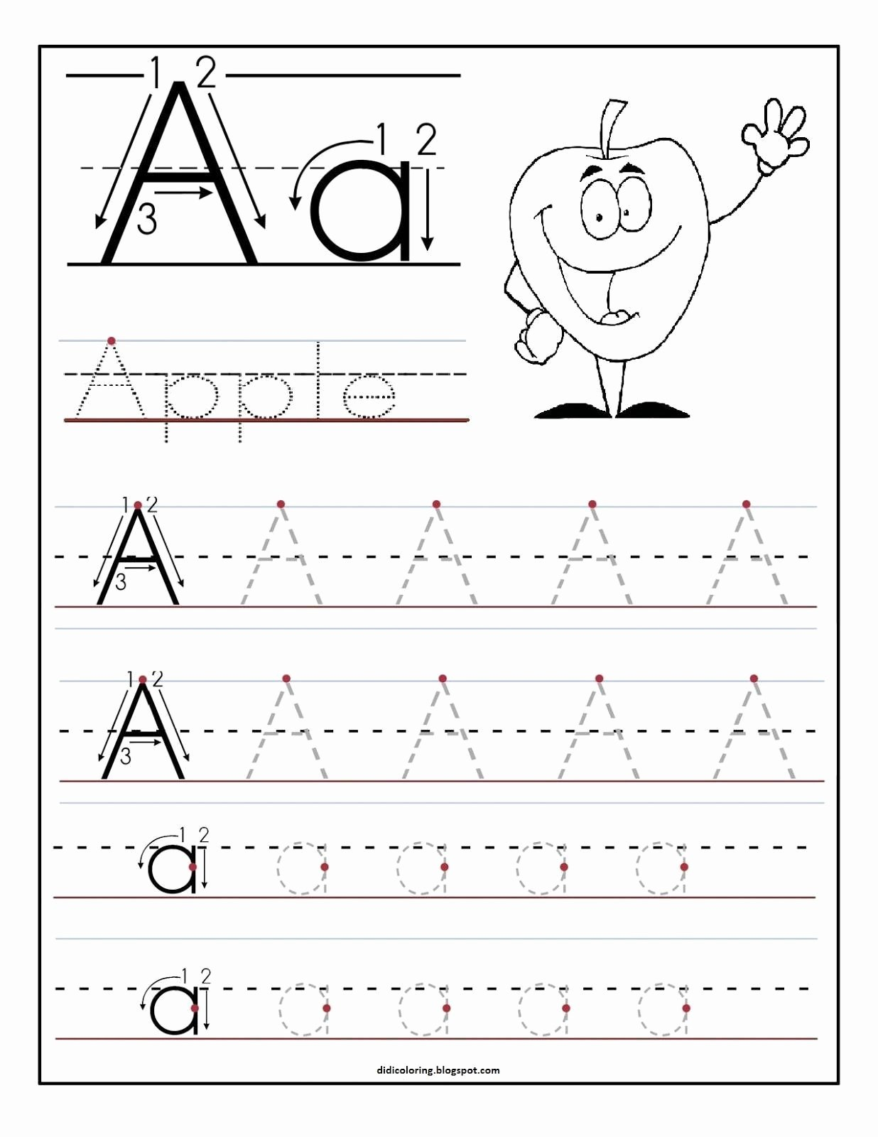 Printable Letter Worksheets for Preschoolers Lovely 16 Learning to Write Letters Free Printables