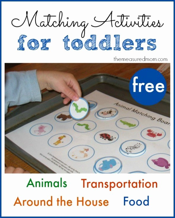 Printable Matching Worksheets for Preschoolers Fresh Printable Free Matching Activities for toddlers the