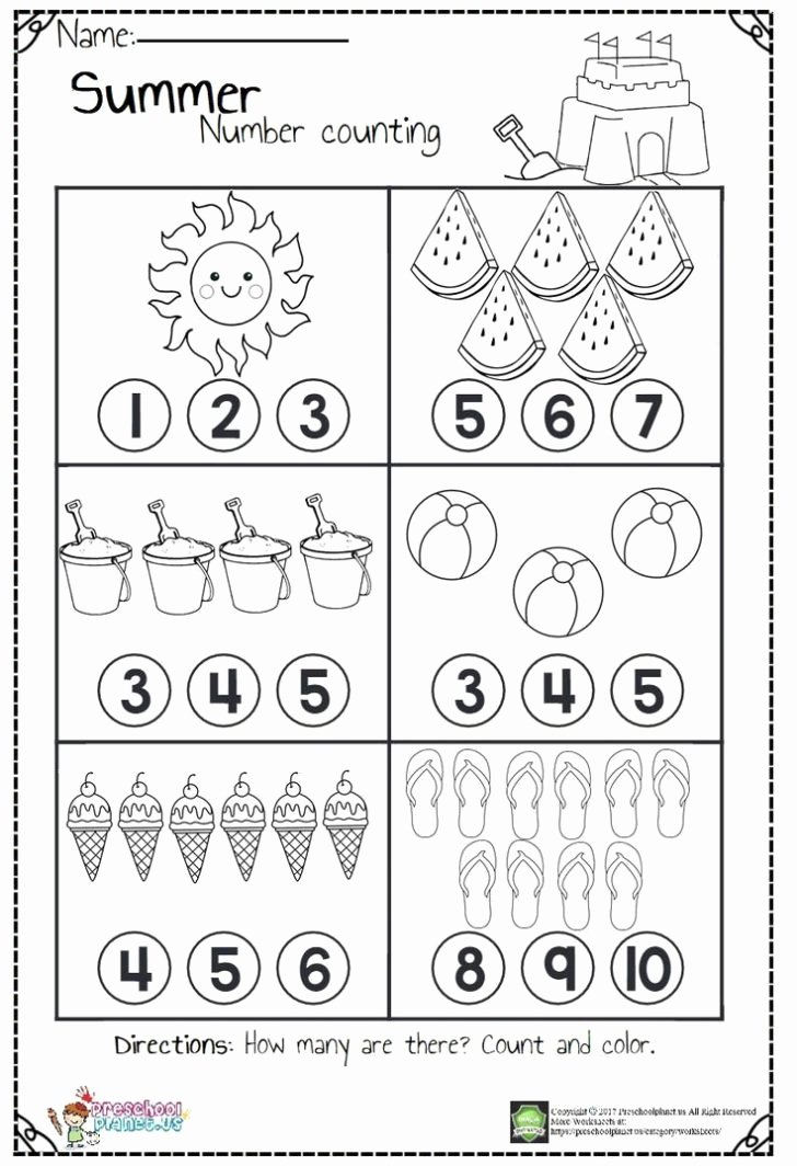 Printable Numbers Worksheets for Preschoolers Beautiful Worksheet Printable Numbers Worksheet Printout Number