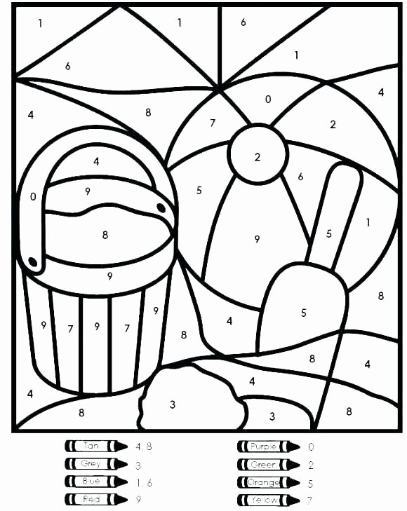 Printable Numbers Worksheets for Preschoolers New Coloring Pages Awesome Printable Numbers for Kindergarten