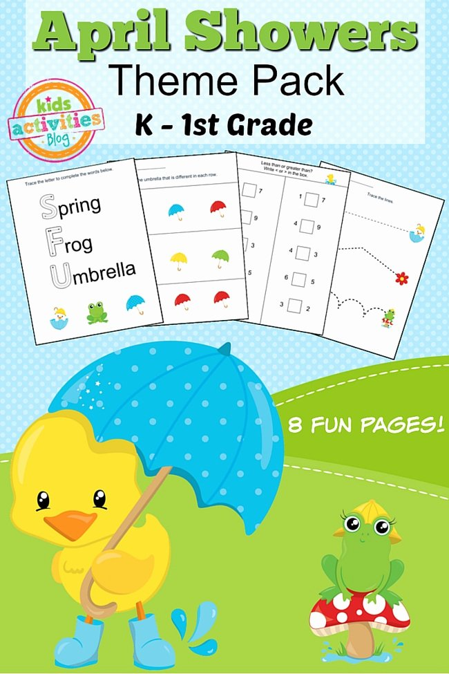 Printable Spring Worksheets for Preschoolers Beautiful Spring Printable Kindergarten Worksheet Pack for Home