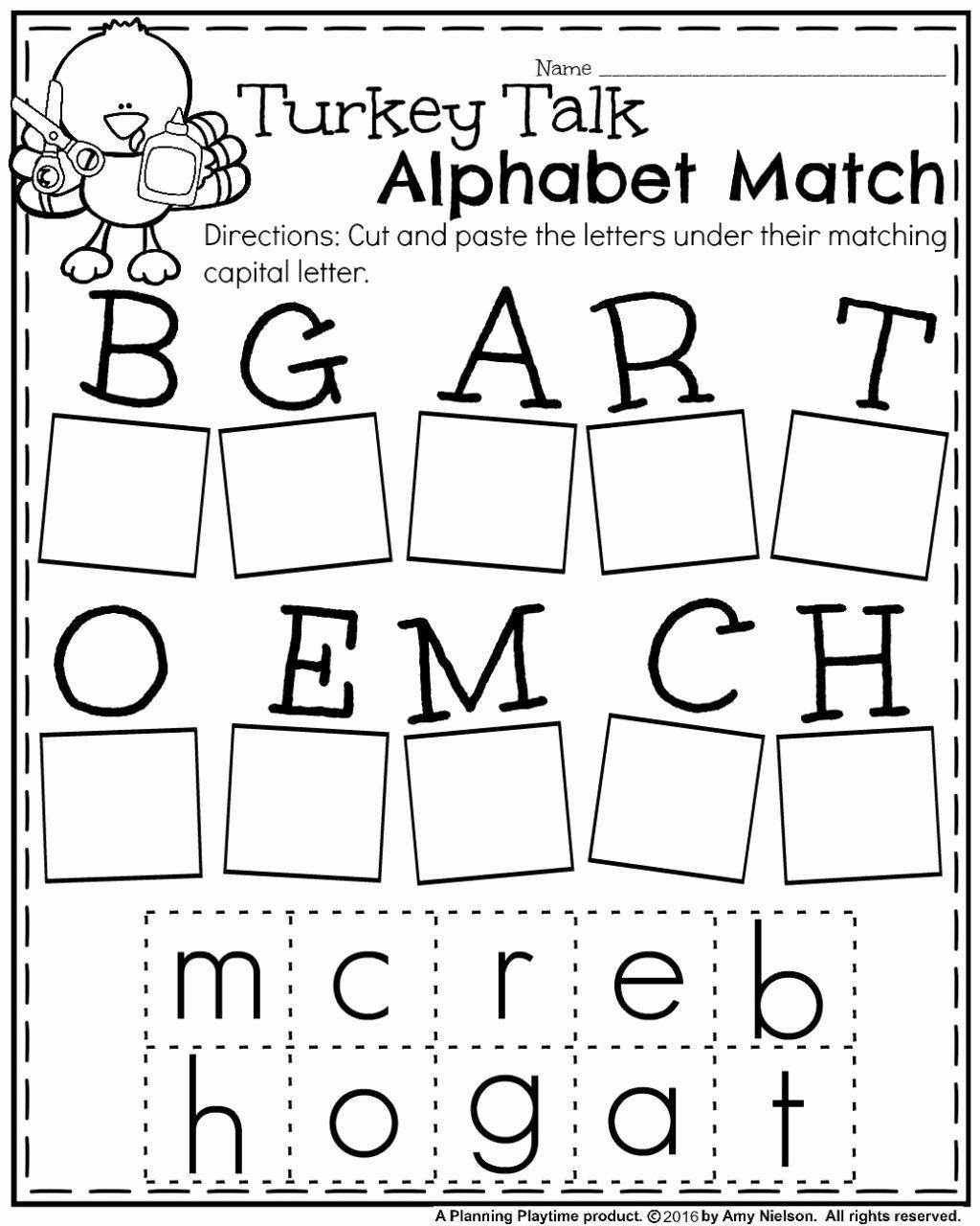 Printable Thanksgiving Worksheets for Preschoolers Inspirational Worksheet Kindergarten Activities Game Thanksgiving