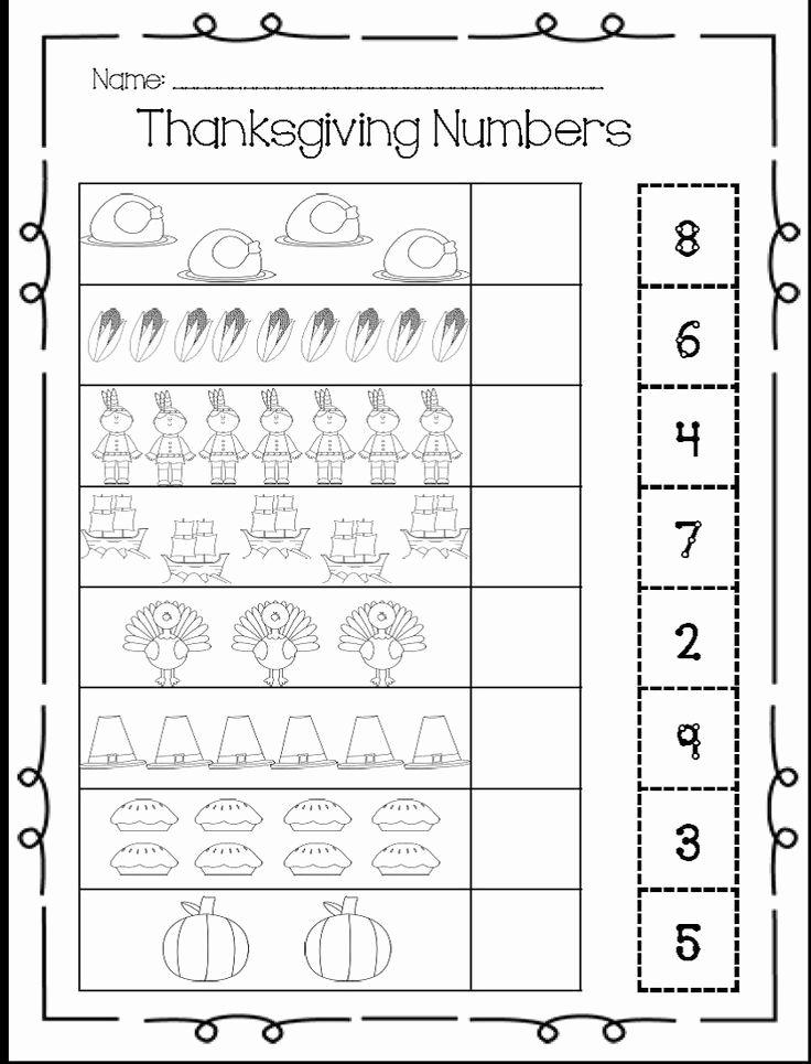 Printable Thanksgiving Worksheets for Preschoolers Lovely I Heart My Kinder Kids