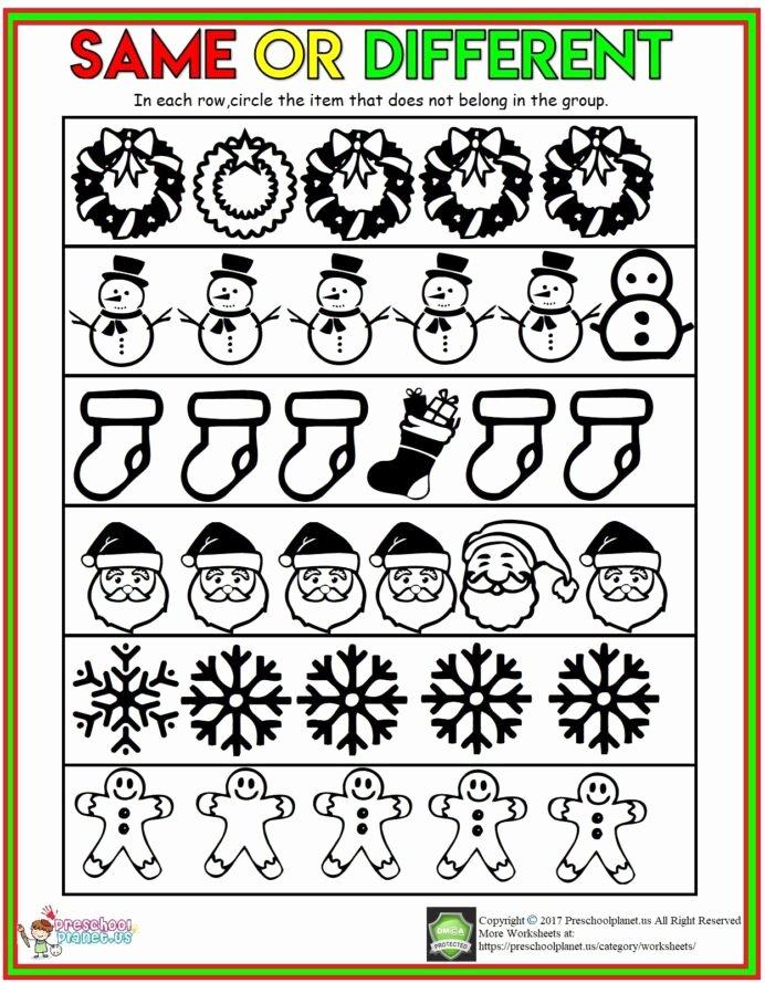Printable Winter Worksheets for Preschoolers Beautiful Preschool Worksheet Number for Winter Number Worksheet