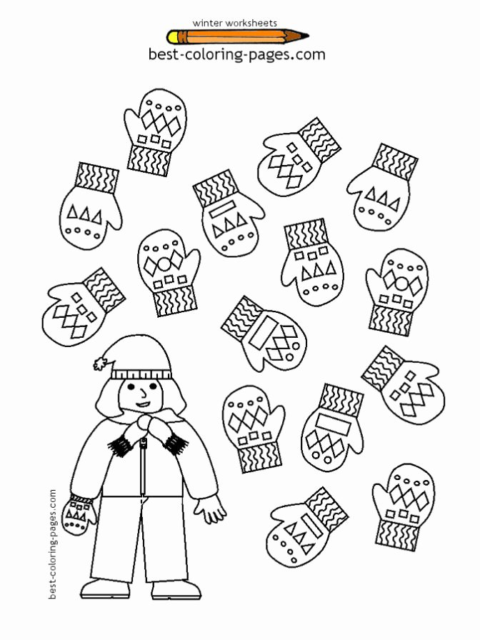 Printable Winter Worksheets for Preschoolers Fresh Coloring Pages Outstanding Working Sheets for Preschoolers
