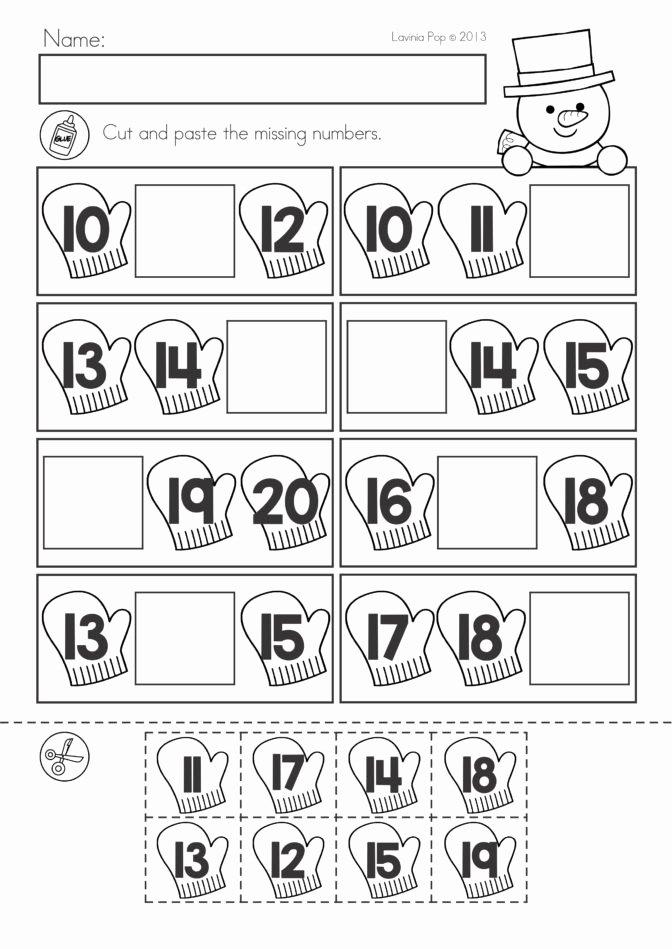 Printable Winter Worksheets for Preschoolers top Math Worksheet Stunning Math Printables for Kindergarten