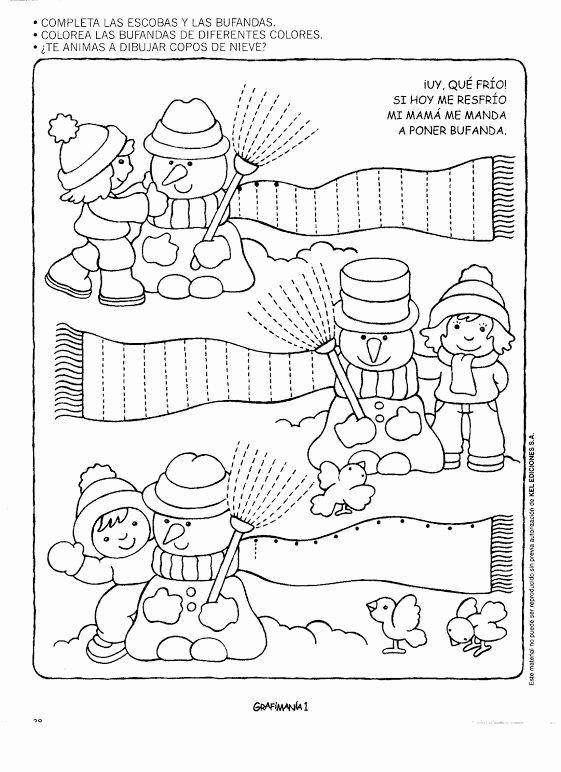 Printable Winter Worksheets for Preschoolers Unique Winter Worksheet for Kids
