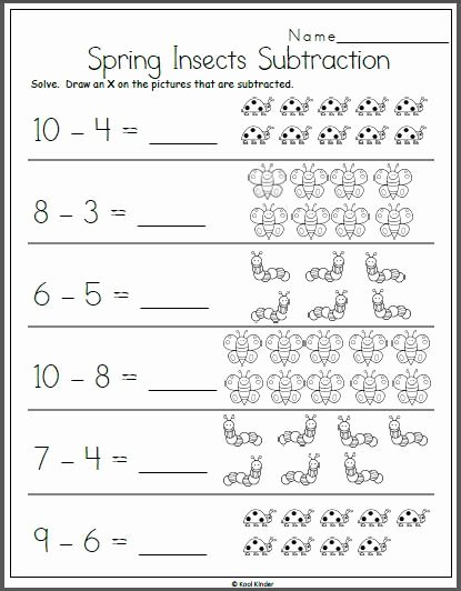 Printable Worksheets for Preschoolers Math Inspirational Arbeitsblatt Fruehlingsabzug Fuer Kindergarten