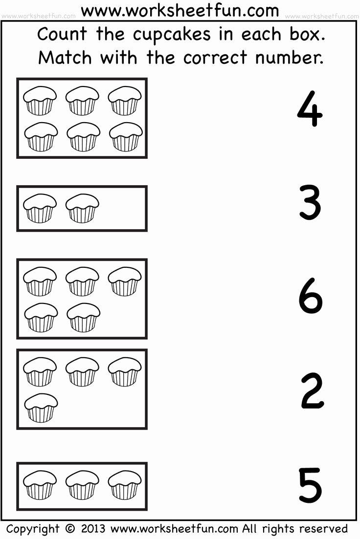 Printable Worksheets for Preschoolers Numbers Beautiful Free Printable Worksheets for Preschool Numbers