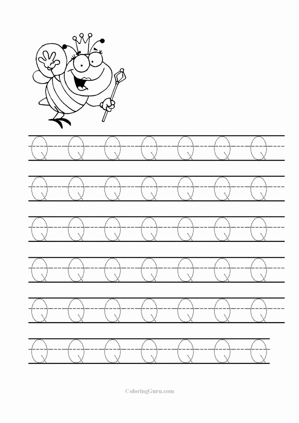 Q Worksheets for Preschoolers top Worksheet Tracing Letter Q Worksheets for Preschool Jpg