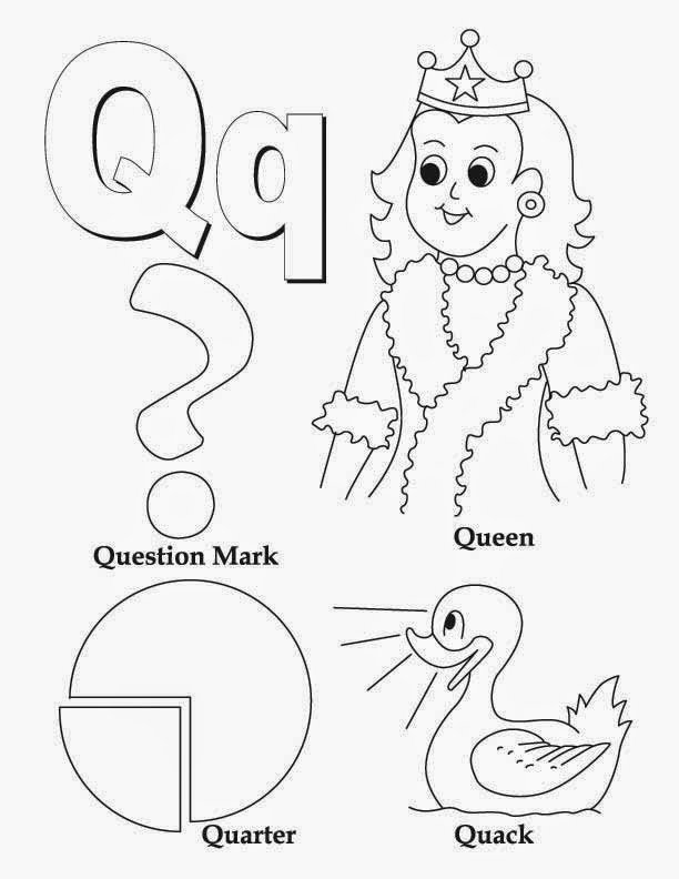 Q Worksheets for Preschoolers Unique Kids Page Alphabet Letter Q Worksheet